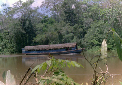 Rio Itaya, Iquitos, Peru