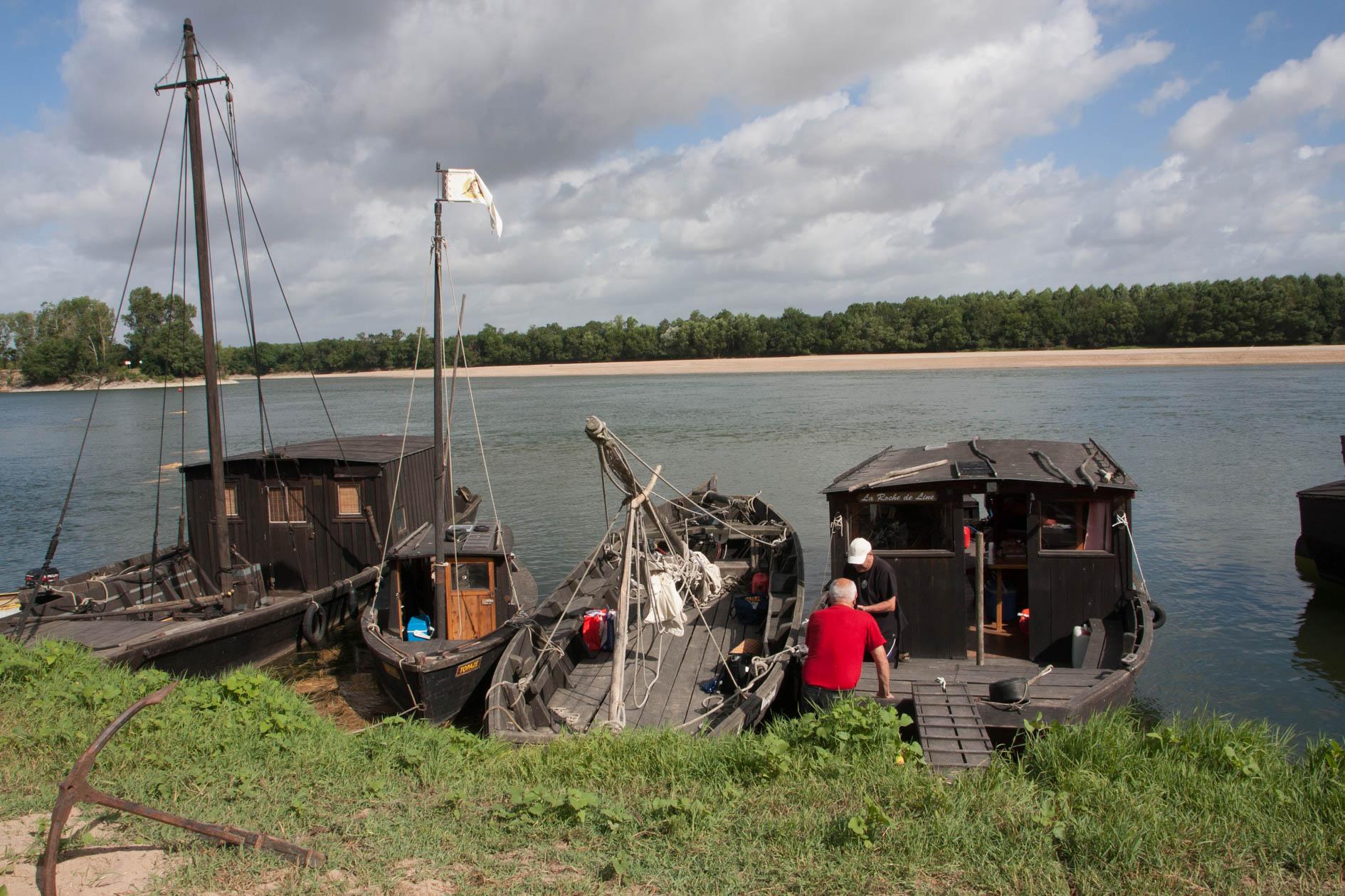 Arrivée à Montjean sur Loire