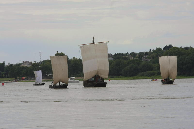 Gens de Loire sous voile