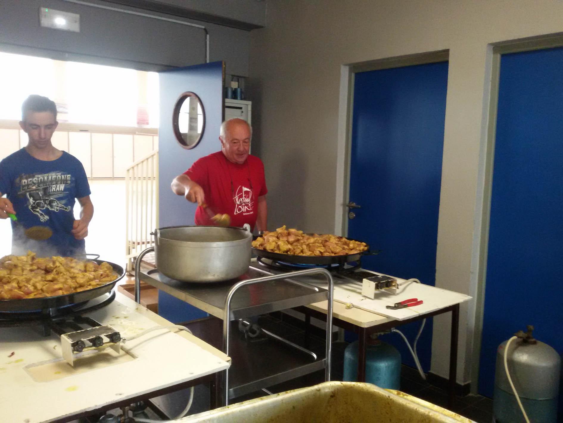 Guy et son apprenti cuisinier Cyril