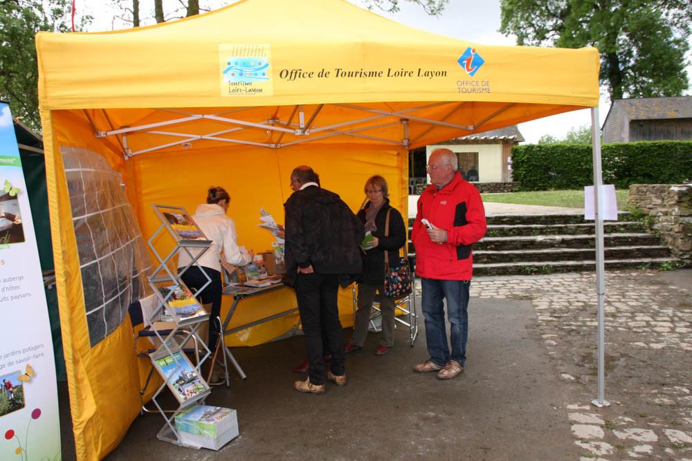 Stand d' L'Office de Tourisme Chalonnes sur Loire