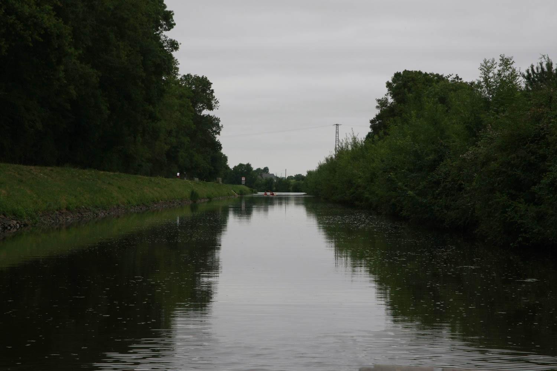 Petit canal pour rejoindre l'Oudon