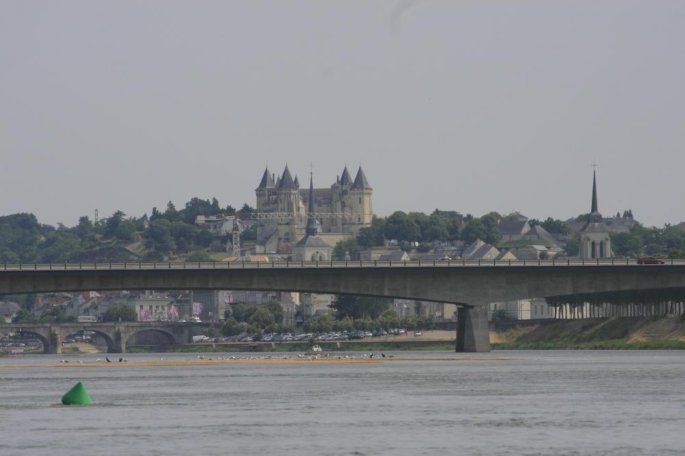 Arrivée sur Saumur