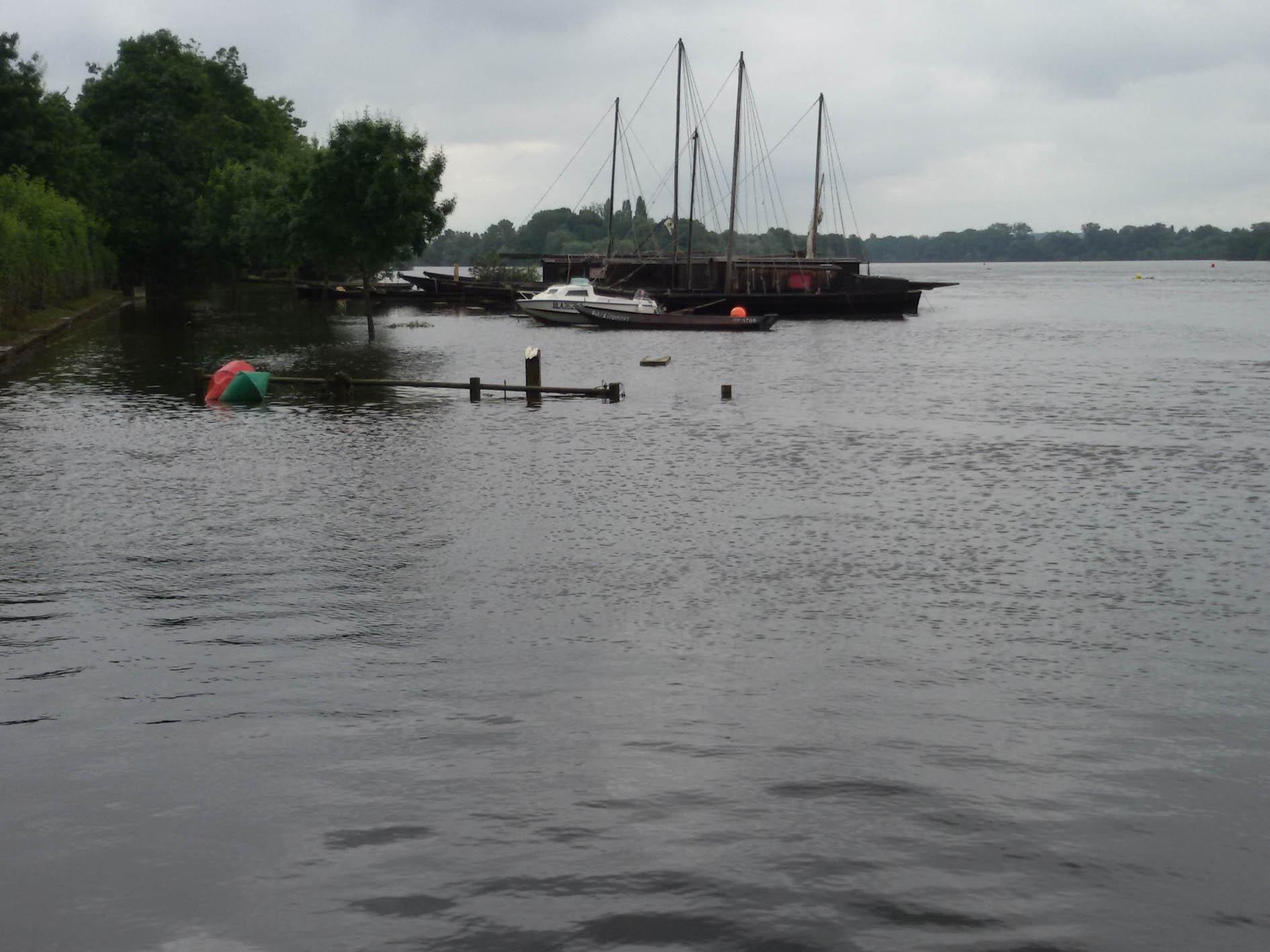 La Loire a baissé
