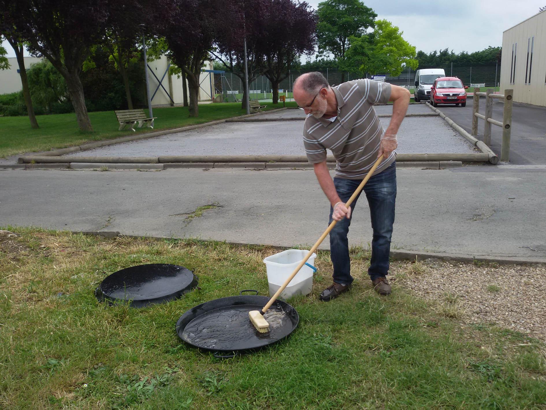 et du nettoyage de grosse casserole !