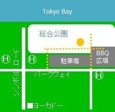 場所の地図