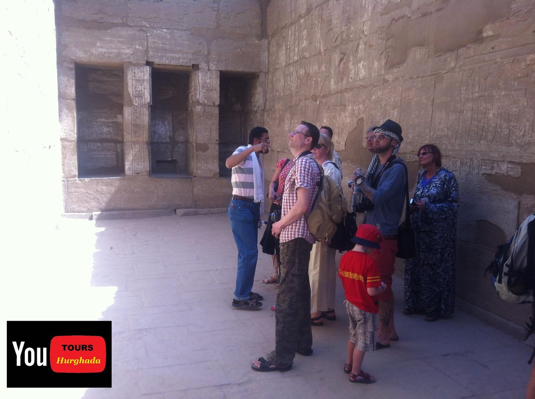 Luxor Tempel Anlage