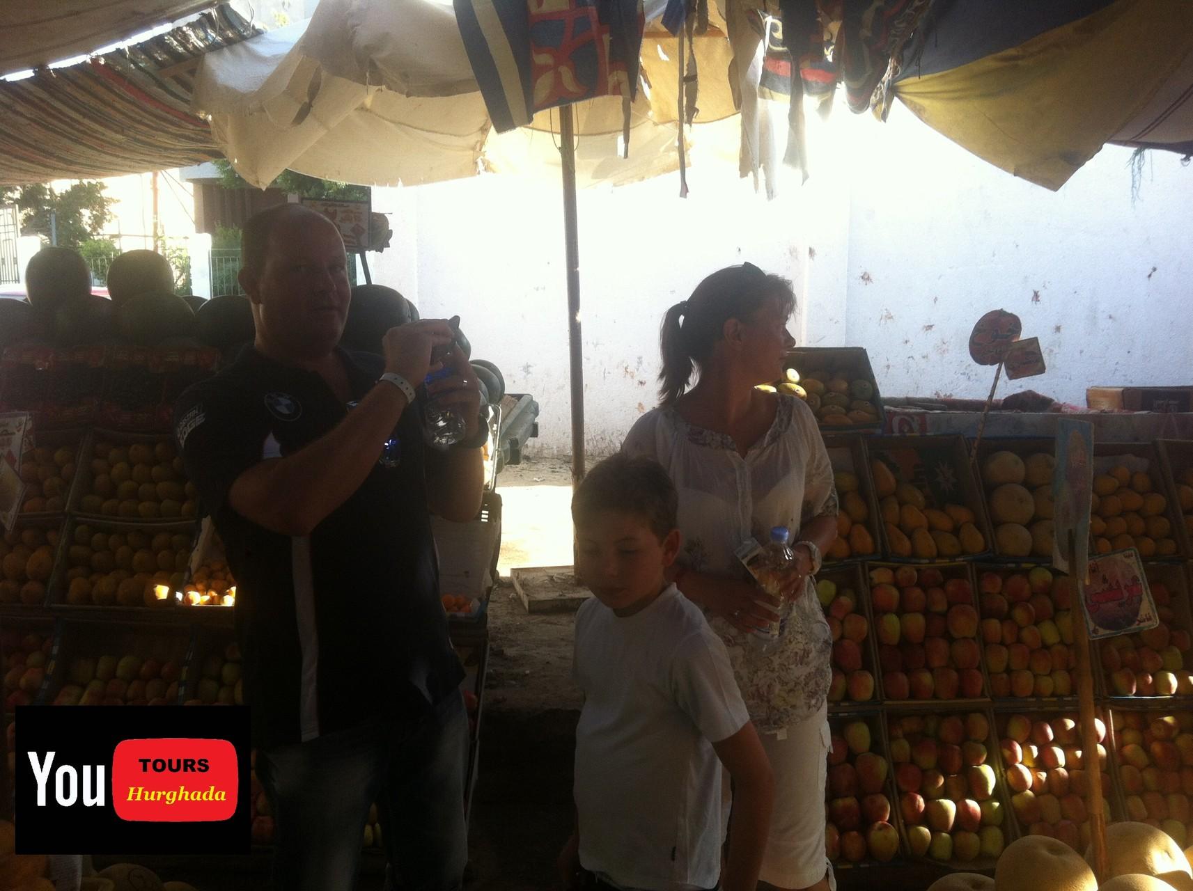 Gemüse Markt Hurghada