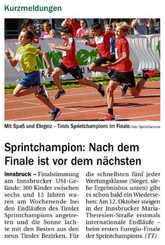 Quelle: Tiroler Tageszeitung v. 19. September 2019