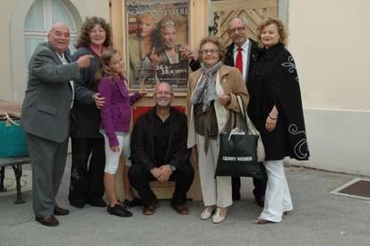 Fritz und Hannelore Ucik, Sophie Mayerhofer, Fritz Weinauer, Erna, Karl, & Regina Mayerhofer