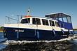 Große Hausboote in Masuren