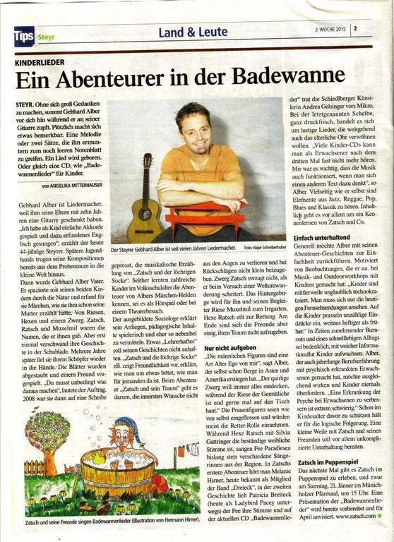 Tips, KW 03, 2012