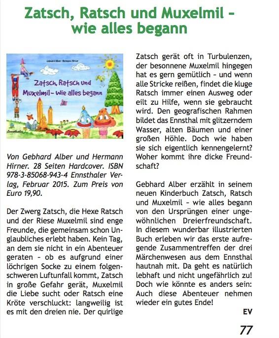 Natur Land Salzburg, 2/2015, Seite 77