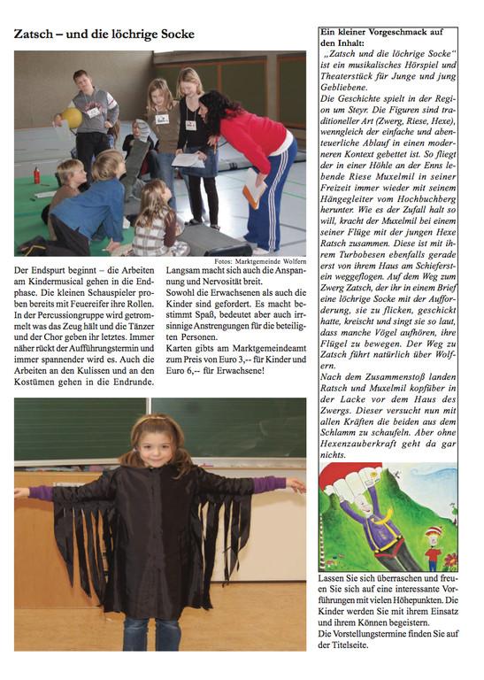 Wolferner Kurier März 2009, Seite 6