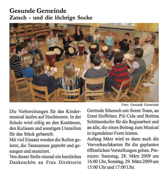 Wolferner Kurier Februar 2009, Seite 6