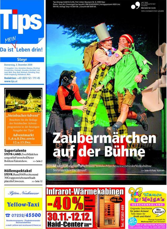 Tips Titelblatt KW 49, 2009