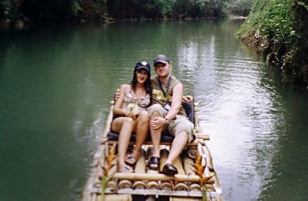 Das Erlebnis: Bambussflossfahrt durch den Jamaikanischen Dschungel