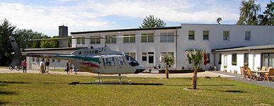 """Helikopter-Anreise """" Weiße Möwe """""""