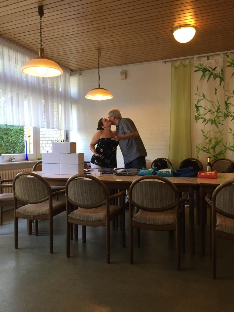Dank für Helferin (DGBM in Berlin) Melanie Klinke