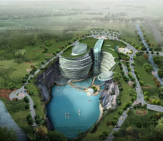 The Songijiang Quarry Hotel
