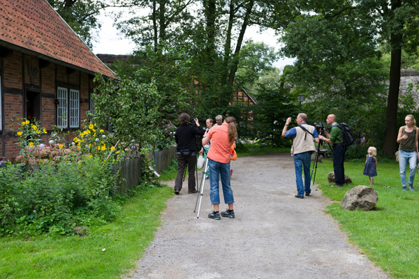 "Workshop Museumsdorf Cloppenburg"" 09.08.2014 Leitung Linda Peinemann"