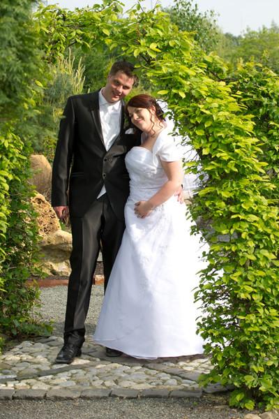André und Svenja - Foto-Shooting im Park Bellersen Twistringen