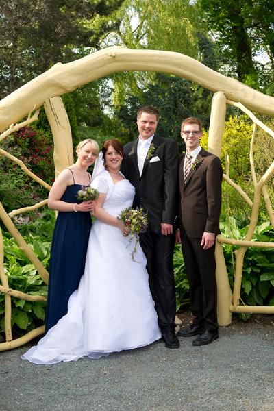 André & Svenja mit Bernd & Christin
