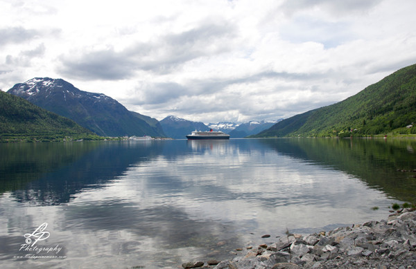 Queen Mary II in Norway