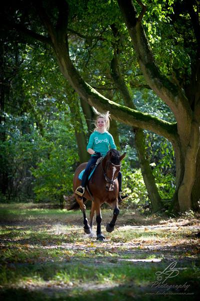 Stimmungsbilder im Stadtwald Verden  - Model Yasmin/Pferdefotografie - Pferdemuseum Verden 09/2014 Leitung & Fotografie Linda Peinemann