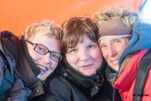 Fotoreise Helgoland - Januar 2015 / Foto: Horst Seemann