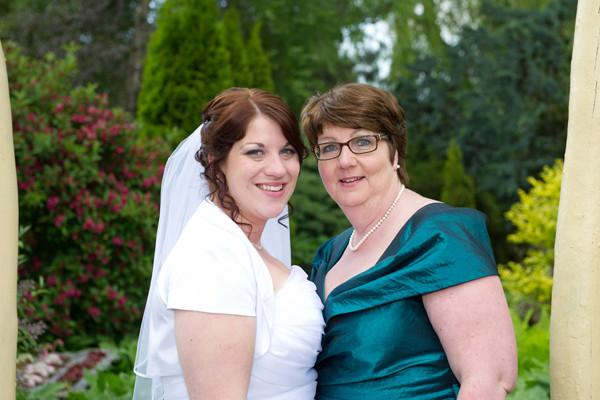 Svenja mit Mama