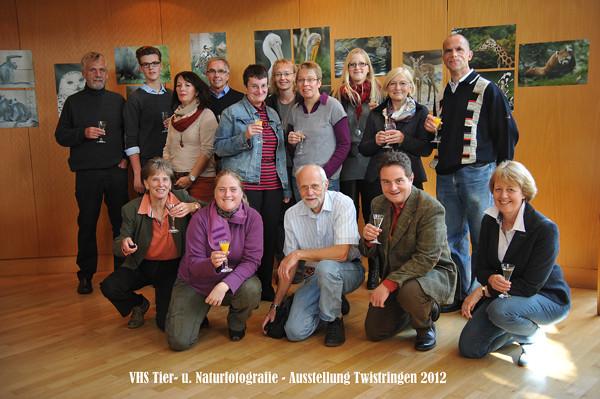VHS Twistringen - Tierfotografie - Hannover Zoo 2012 - Fotoausstellung im Rathhaus