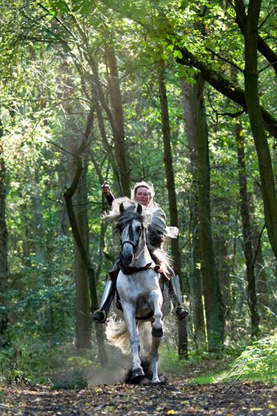 """Power Frau Astrid Engelbart"" Pferdefotografie - Pferdemuseum Verden 09/2014 Leitung & Fotografie Linda Peinemann"