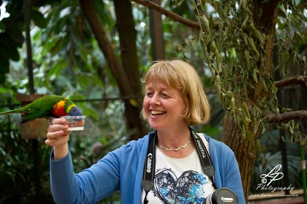 VHS Twistringen Workshop / Vogelpark Walsrode Juni 2014 - Wir haben viel Spaß gehabt!