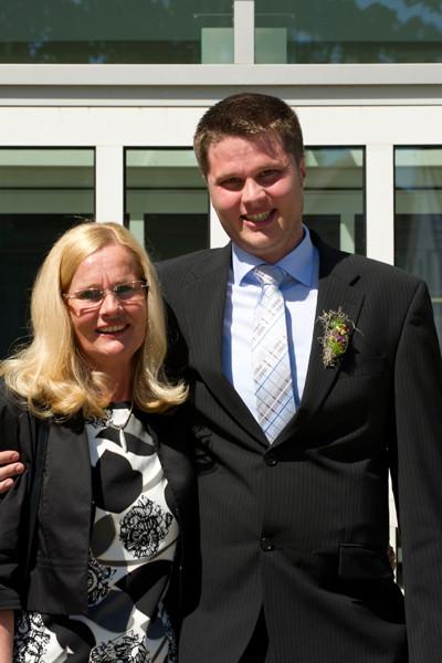 Standesamt Twistringen 16.05.2014 André mit Mama