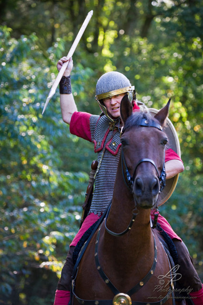 Römische Köstum - Model - Jürgen/Pferdefotografie - Pferdemuseum Verden 09/2014 Leitung & Fotografie Linda Peinemann