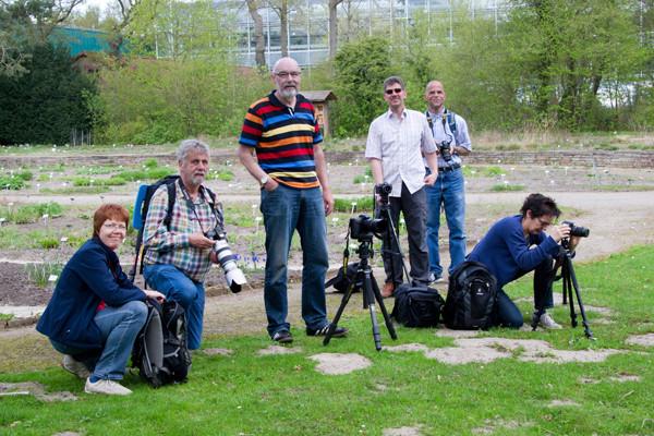 VHS Twistringen - Fotoworkshop Rhodedendrom Park 2013. Leitung & Fotografie Linda Peinemann