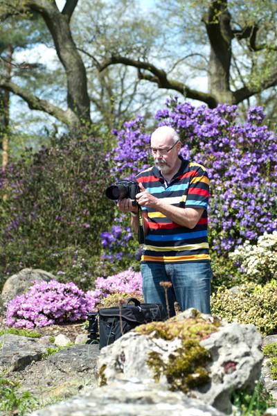 VHS Twistringen - Fotoworkshop Rhodedendrom Park 2013 Landschft/Makro und Flora Fotografie Wer war dabei?
