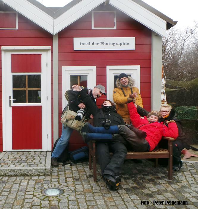 Fotoreise Helgoland - Januar 2015 / Foto: Peter Peinemann