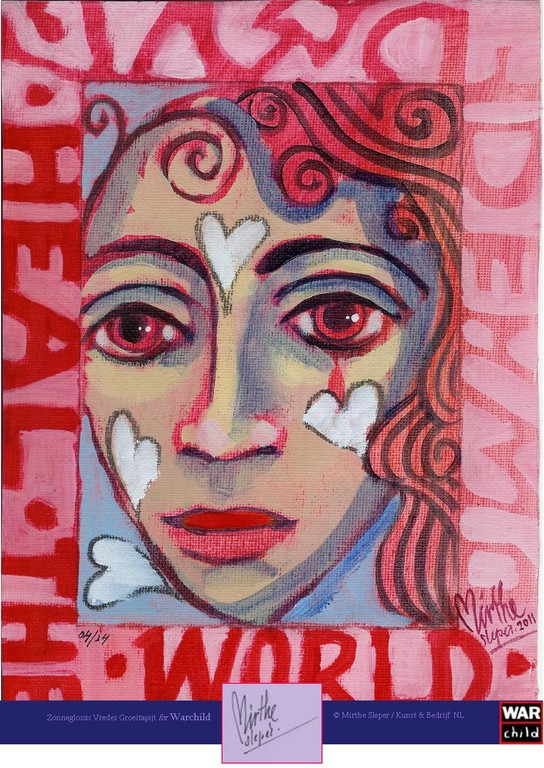 Heal The World - Gesigneerd: Mirthe Sleper 2011 04/24