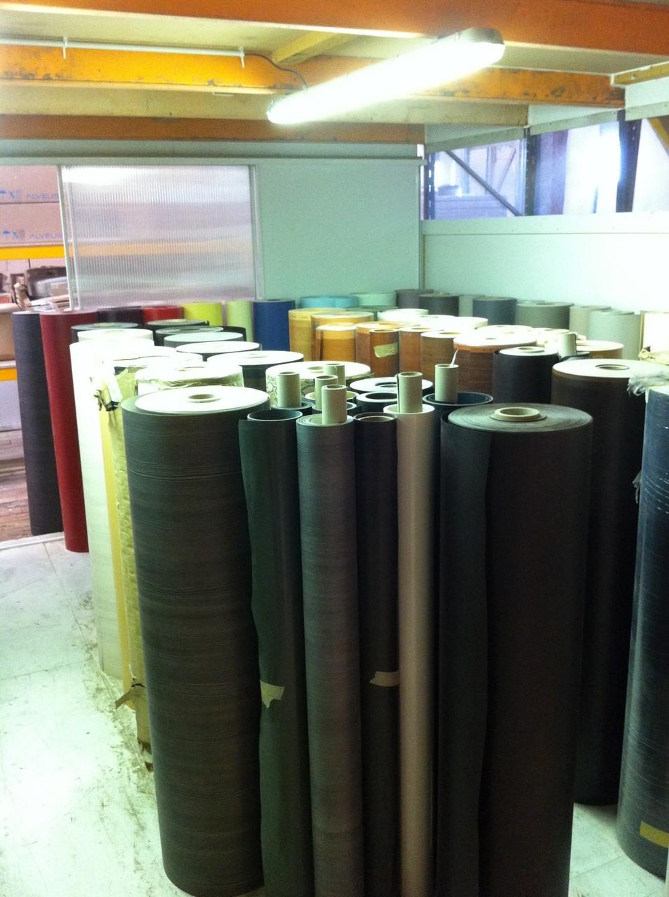 Stock rouleaux polymère