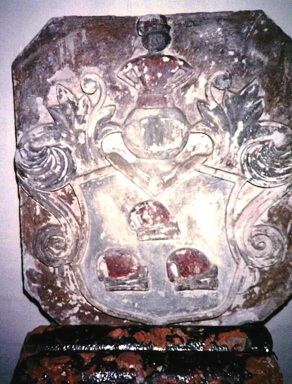 Wappenstein aus Kaltenhof im Heimatmuseum Perleberg