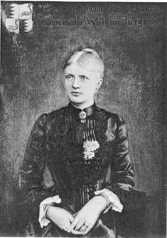 11. Elisabeth v. Rohr gen. Wahlen Jürgaß, verh. mit 10.