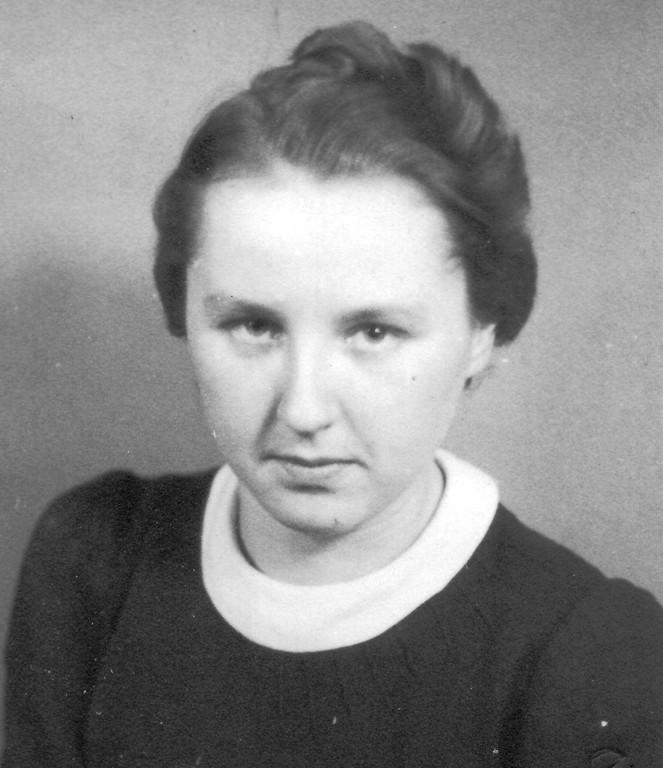 15. Annemarie Wulf, verh. mit 14.