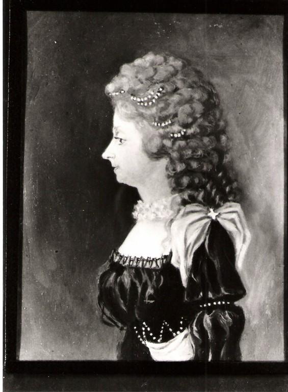 5. Fr(i)ederike Louise Karoline v.Sydow, verh. mit 4.