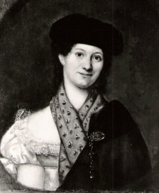 7. Christiane Henriette v. Calbow, verh. mit 6.