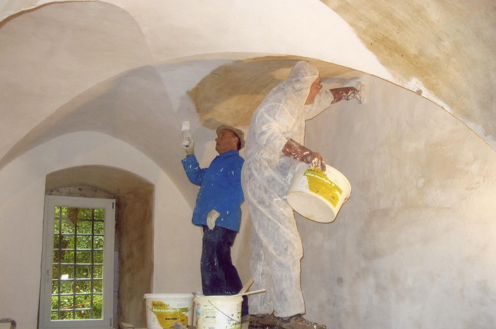 Sanierung des Foyes in der Pfisterei