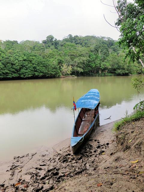 Rio Napo en la Amazioia de Perú.