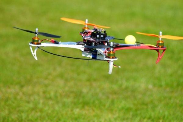 Das ist Marks Quadrocopter