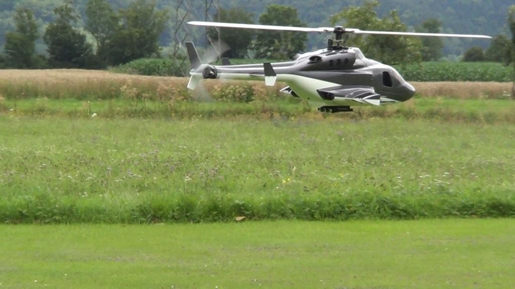 HK 500 im Airwolf Rumpf
